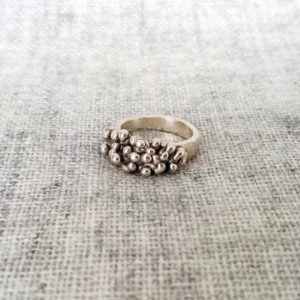 anillo plata artesanal | Tana tienda online