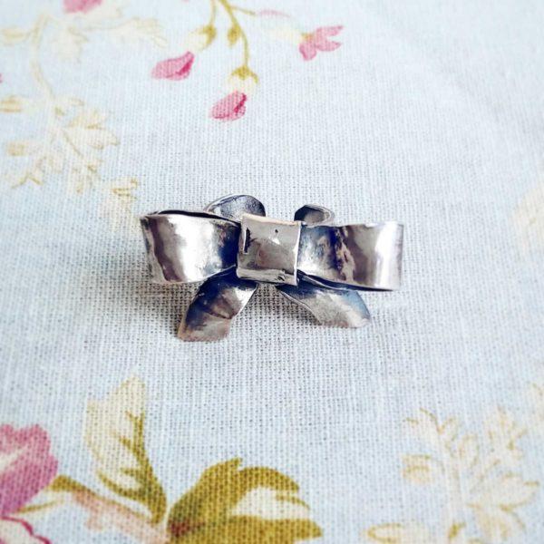 Anillo artesanal plata | Tana tienda