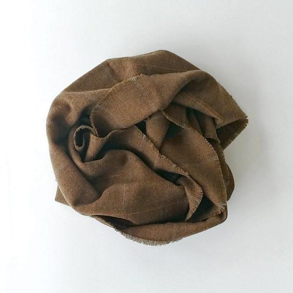 buff de lana merina marron