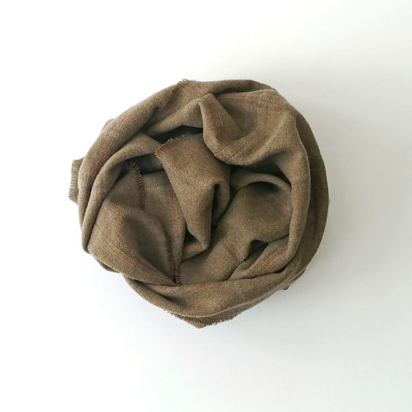 buff de lana merina ocre