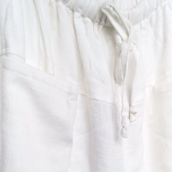 pantalon eco blanco