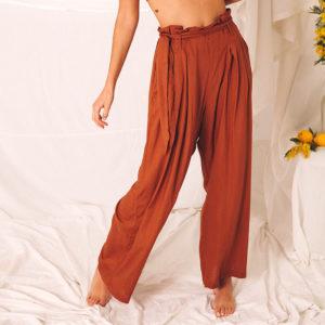 pantalon ancho verano